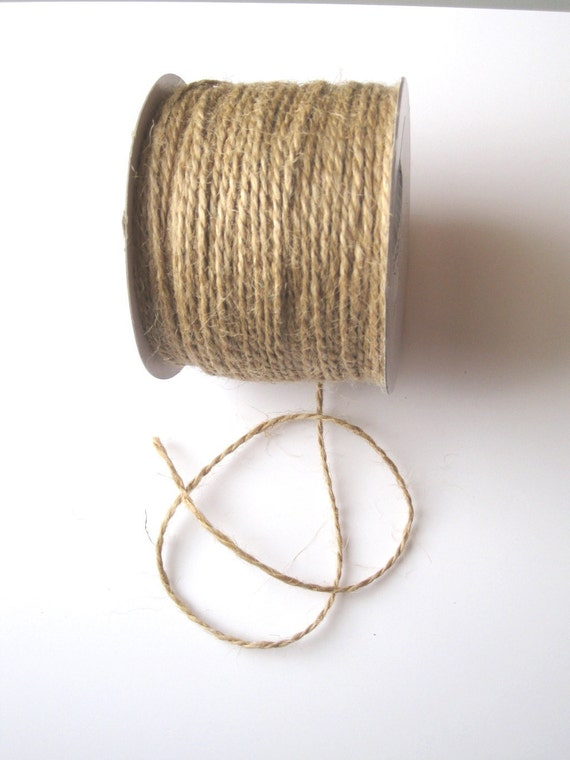 100 Yards of 2mm Natural Jute Twine