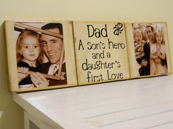 Personalized Father gift Dad a sons hero and a daughters first love father gift personalize