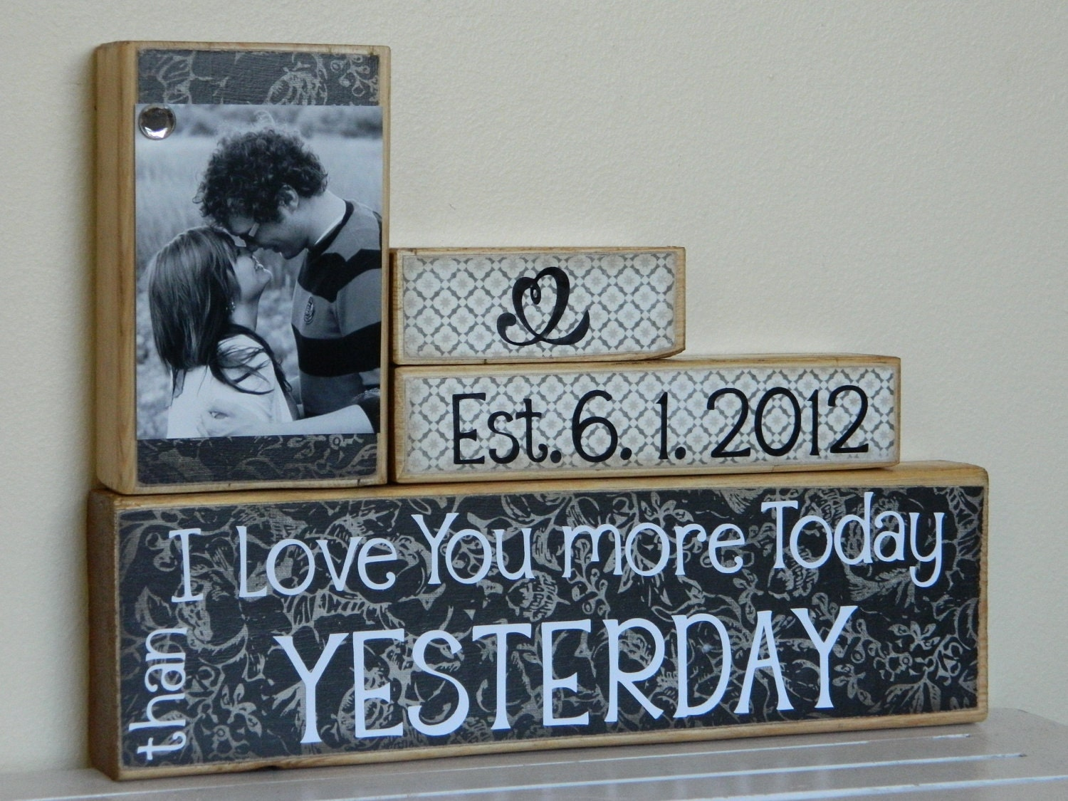 Unique Wedding Gifts Canada : Personalized Wedding gift/Decoration Happily Ever After wedding ...