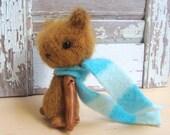 Miniature Artist Bear - 4 inch Anushka