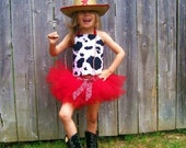 Cowgirl, Cowboy Halloween Costume.  Tutu and Corset Cowgirl Costume, Birthday