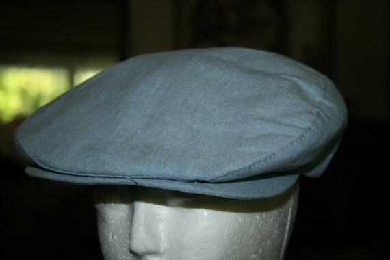 Light Blue Men's Cap
