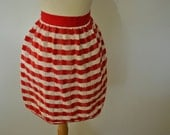 Vintage Apron Practical Terry Cloth Sale Valentines Day Ready