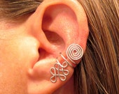 Non Pierced Celtic Priestess Ear Cuff 1 Cuff - Color Choices