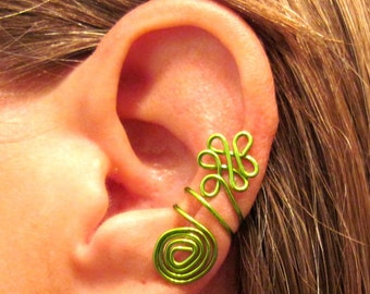 Non Pierced Celtic Priestess Ear Cuff 1 Cuff Color Choices