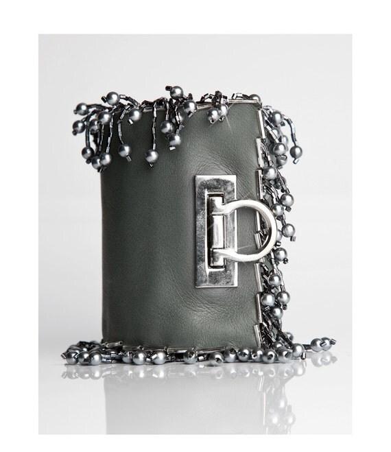 Silver Grey Neutral Pocket Bracelet - Moonbeams