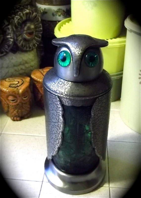 1960s OWL MARTINI Maker Absolutely Stunning