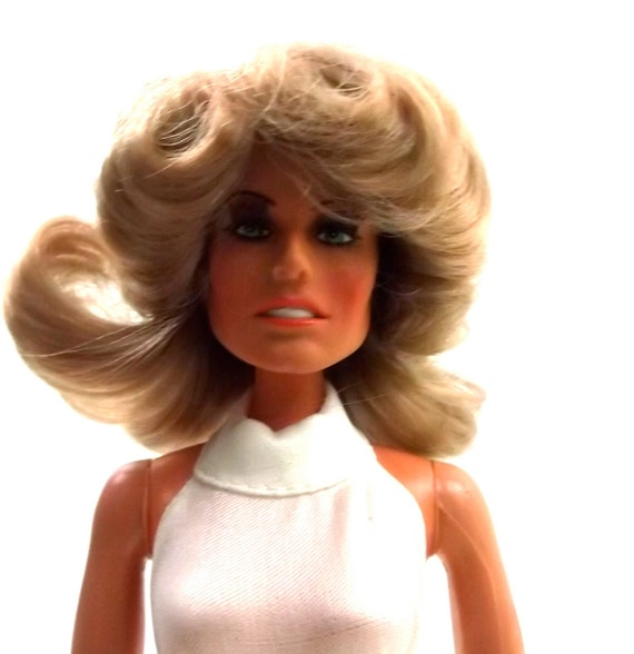 Farrah Fawcett 1970s Vintage MEGO doll toy // vintage collectable  / 1975