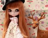 Girlish Flora Princess dress set for Blythe doll