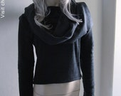 Jacket Scarf Black - 2040 Chrisst fleecy jacket is the cozy winter coverup you won't want to take off. Special Online Price