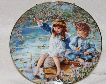 PATIENCE by Sandra Kuck fine china collector's plate