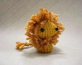 Tiny amigurumi lion