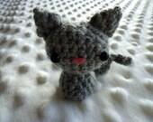 Tiny amigurumi kitty