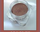 CRUSHED COLORPOTS Cream Eyeshadow in crease resistant, sweat resistant, dark bronze wine color