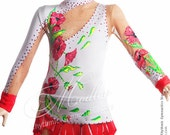 Rhythmic Gymnastics Competition Leotard, Ice Figure Skating Dress, 38