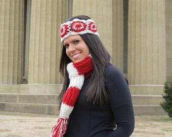 Nebraska Cornhuskers Knit Headband