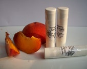 Just Peachy - Lip Balm - One tube - by Simply Natural