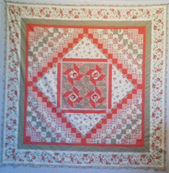 ELM CREEK QUILT:Caroline's Collection Quilt top Kit 72 inches- Jennifer Chiaverini for Red Rooster
