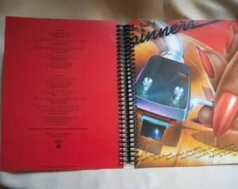 The Best of the Spinners album cover notebook