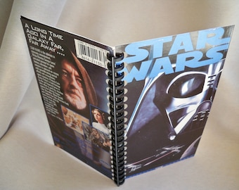 Star Wars A New Hope VHS Tape Notebook