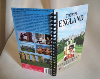 Touring England VHS tape box notebook