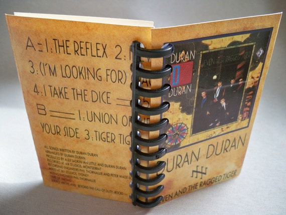 Duran Duran Seven and the Ragged Tiger Mini Notebook