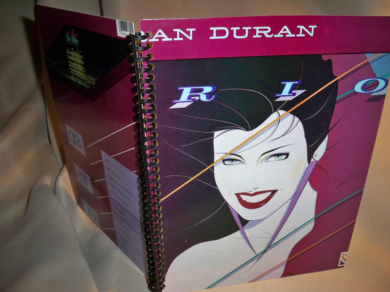 Duran Duran Rio Album Cover Notebook