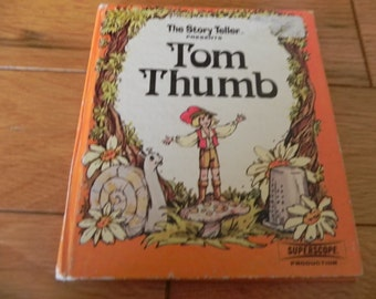 Tom Thumb - Superscope Production Vintage Book