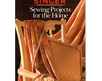 SALE Singer Reference Library Book-- Sewing Projects for the Home-1991 Paperback