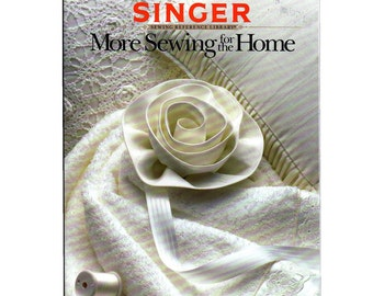 SALE Singer Reference Library Book-- More Sewing for the Home-1987 Paperback