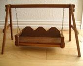 RESERVED FOR DEANNE--Large Vintage Doll Swing