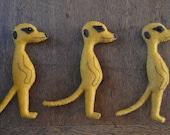 Meerkat Fridge Magnet - Handmade