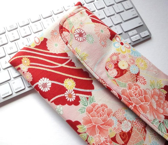 apple wireless keyboard sleeve case cover padded flap closure. Black Bedroom Furniture Sets. Home Design Ideas