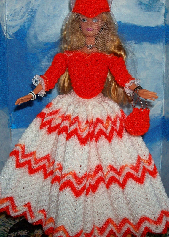 Barbie in English Country Costume