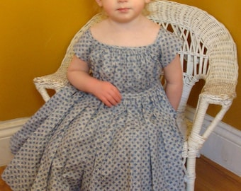 Civil War Childs Dress (Custom to childs measurement)