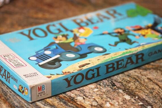 Vintage 1971 Yogi Bear Game By Milton Bradley HEY BOOBOO