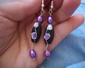 Wire wrapped fun earrings  5