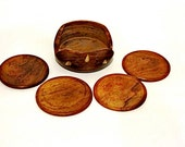 Wooden Coasters-Great for the Home Bar or MAnCave-Set of 4