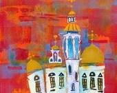 "Colors of Ukraine fine art paper print 18"" x 24"""