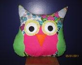 Owl pillow friend stuffed animal