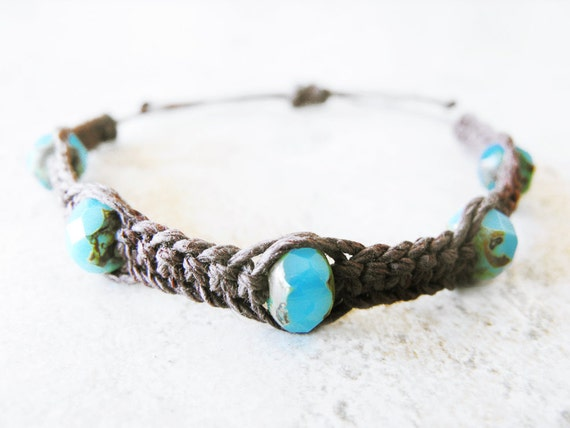 Daydreamer Fishbone Hemp Bracelet - Hemp Jewelry