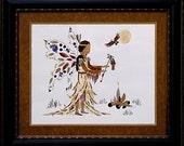 Messenger of Peace - White Buffalo Calf  Woman - Spiritual OOAK