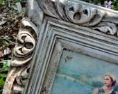 Set 2 Vintage Resin Ornate Renaissance Paris Apartment Curvy Romantic Framed Pictures