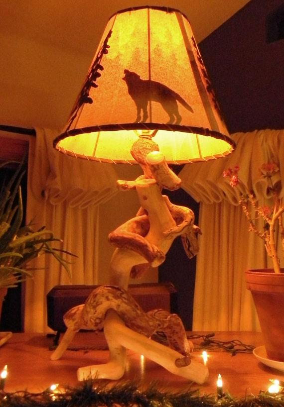 Abstract aspen lamp