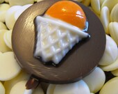 50 White and Milk Chocolate Basketball Sport Lollipops