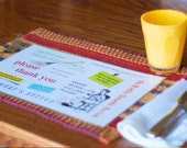 Dinnertime Rules Placemat & Report Card Set