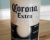 Recycled Corona Bottle Soy Candle