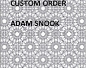 Custom Order for Adamsnook - Second Payment for Commissioned Drawings plus shipping