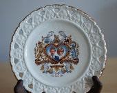 Vintage Royal wedding commemorative plate- Princess Diana and Prince Charles