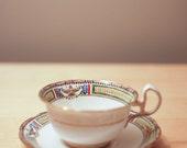 Vintage Thomas Poole Royal Stafford teacup - handpainted